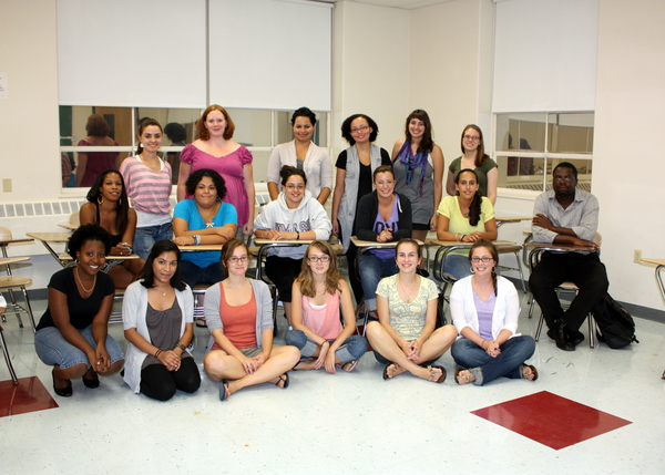 community psychology students 2011.JPG