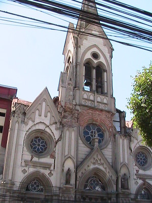 earthquake damage in Talca church.JPG