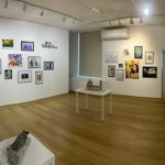 panoramic of art gallery