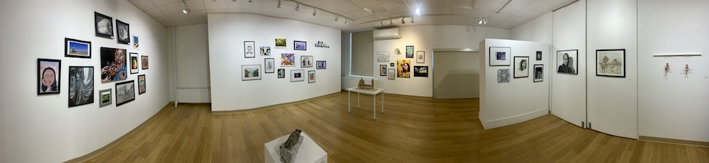 panoramic of art gallery