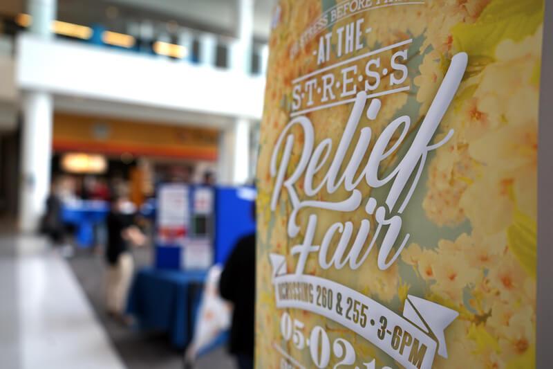stress relief fair umass lowell