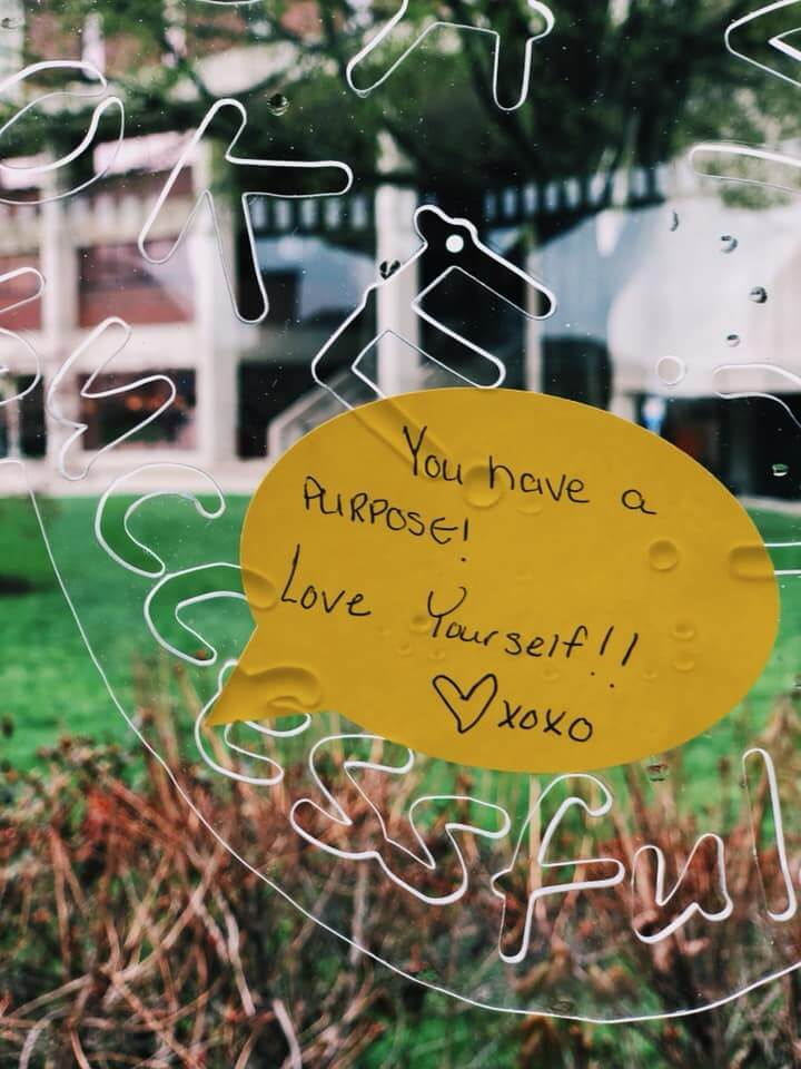 You have a purpose! Love yourself
