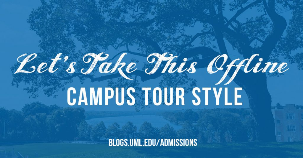 campus tour quick tips