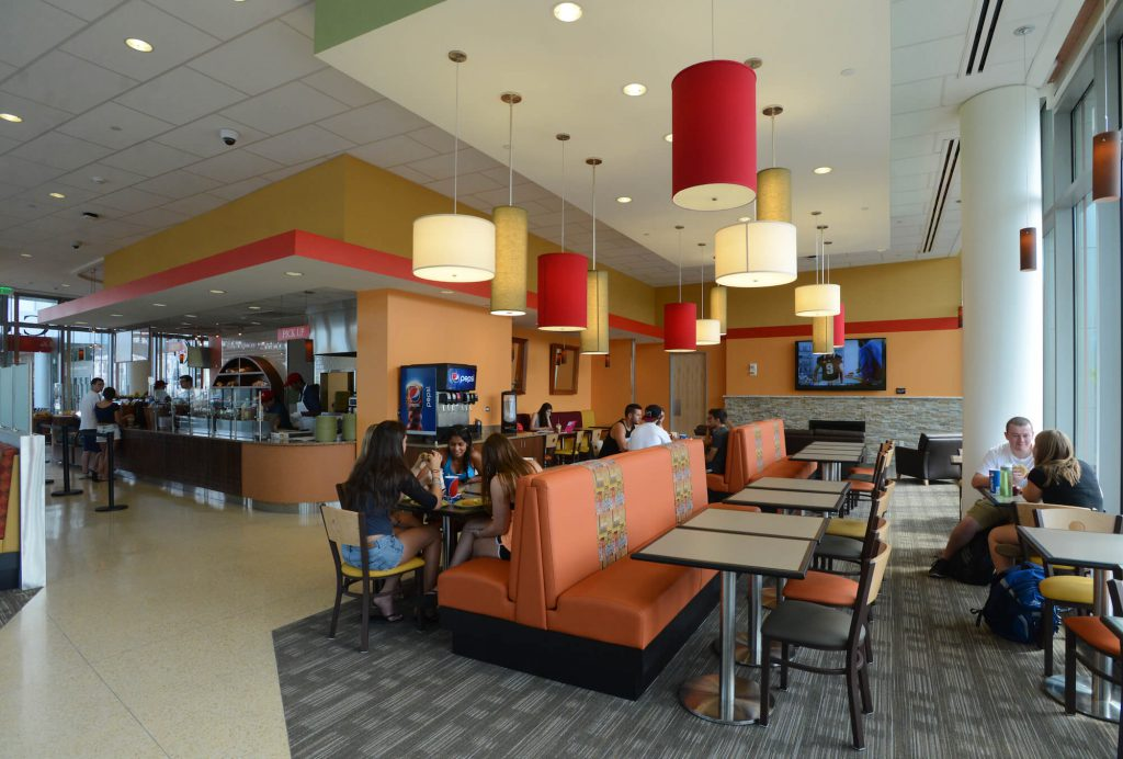dining options at university crossing