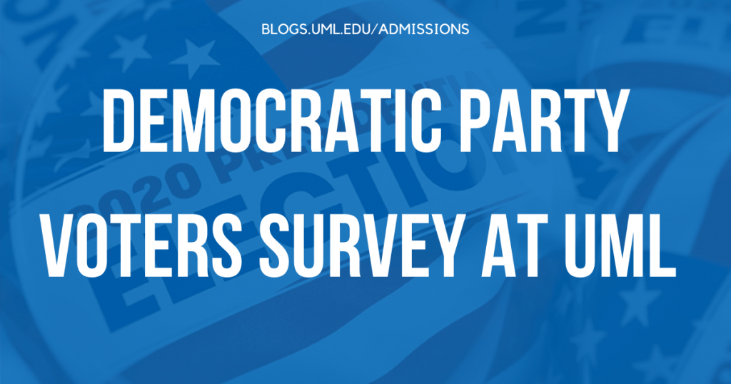democratic party voters survey at uml polling results