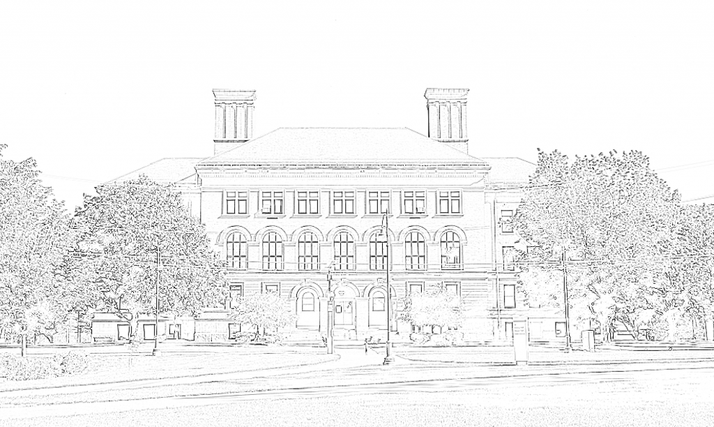 coburn hall coloring page