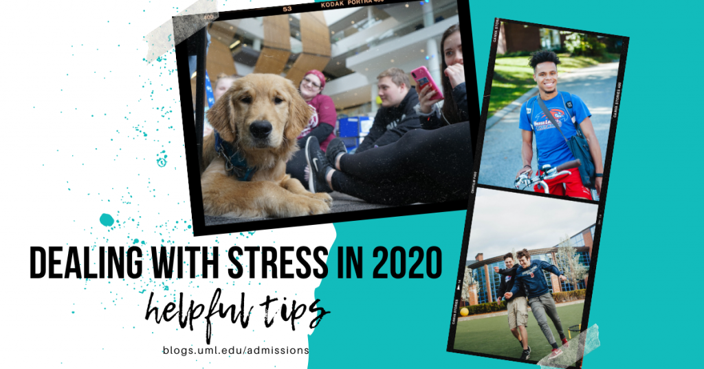 dealing with stress in 2020 helpful tips