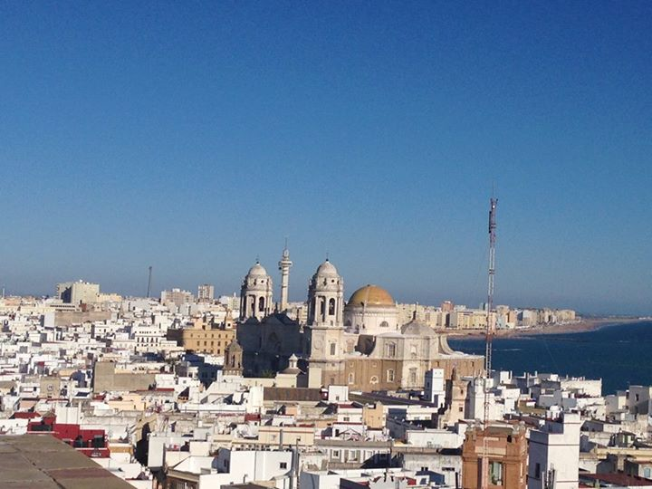 The Cadiz skyline in 2014.