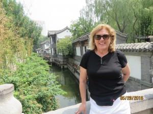 Valerie at Baotu Spring Park