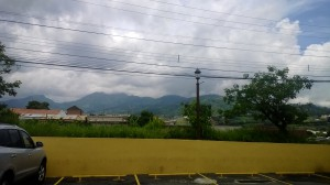 mountains outside of PXS