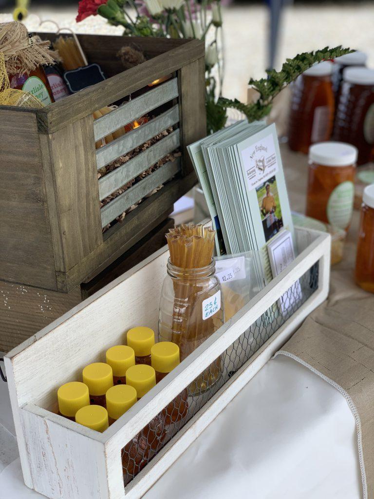 Honey Sticks and Brochures