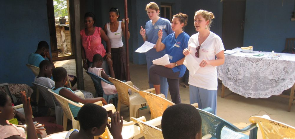 Nursing Students Without Borders – Ghana 2010