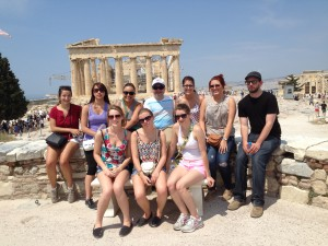 Touring the Acropolis