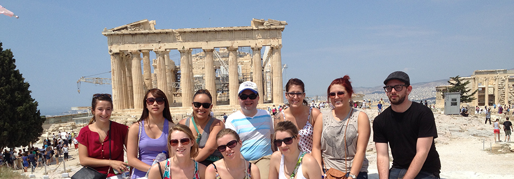 Greece: Culture & Psychology With UMass Lowell 2014