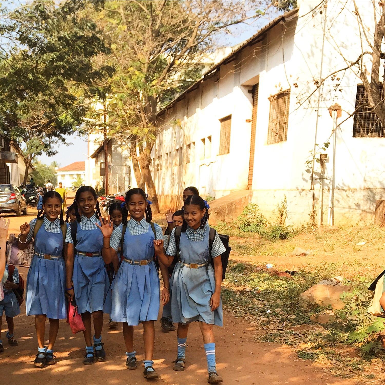 Hubli schoolgirls