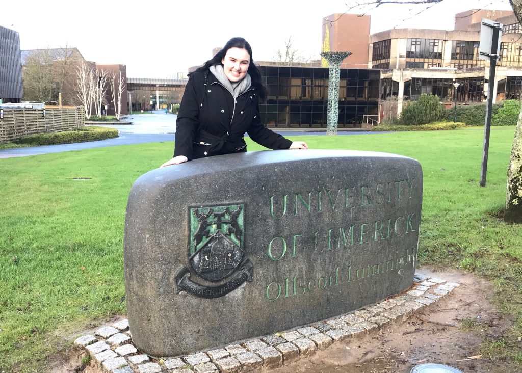 Follow this Spring 2018's Office of Study Abroad & International Experiences Global Correspondent, Shaelyn Ahern, on her studies in Limerick, Ireland! Shaelyn is a UMass Lowell History major studying this spring on a UMass Lowell partner-led study abroad program, AIFS in Limerick, Ireland at the University of Limerick.