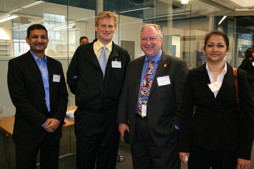 Satinder Rawat, Kurt Barringhaus, James McNamara and Gayathri Srinivasan, Umass Medical School.JPG