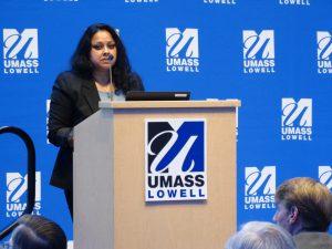 Geeta Singh of MagOptics, a 2018 M2D2 Challenge Finalist