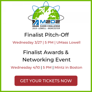 Tickets are available for the M2D2 $200K Challenge Pitch-off and Award events.