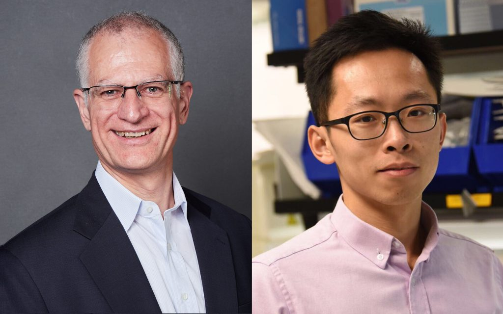 Larry Alperts, CEO, and Zhifei Ge, CTO, Co-Founders of M2D2 Resident Company Cam Med, Inc.