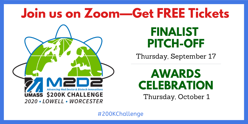 Get Free Tickets for the 2020 M2D2 $200K Challenge