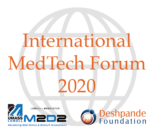 The first M2D2 International MedTech Forum will take place October 8, 2020