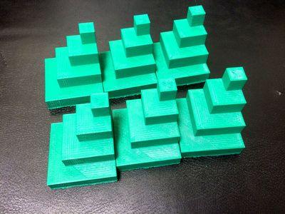 six mayan pyramids