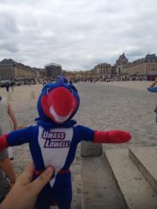 Rowdy at Versailles