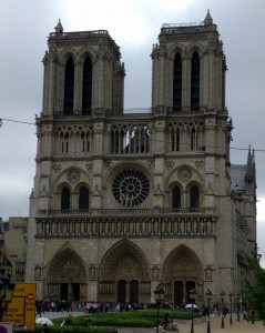 Notre Dame - at the very heart of Paris