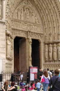 Notre Dame sculptural reliefs