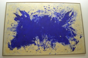 Ant 76, Grande anthropophagie bleue, Hommage a  Tennessee Williams 1960 by Yves Klein