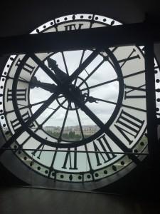 Clock at Musée D'Orsay