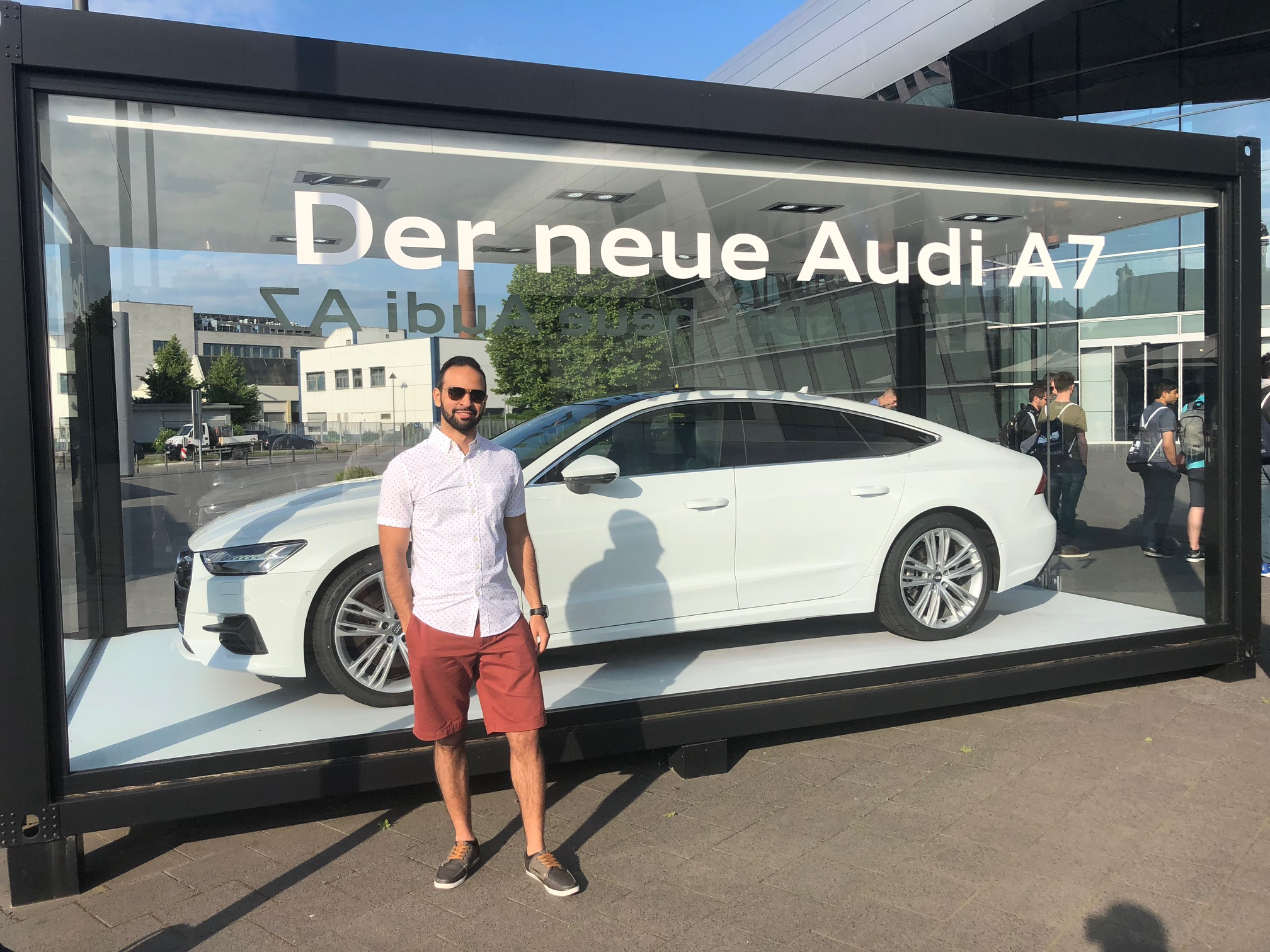 Follow this Summer 2018's Office of Study Abroad & International Experiences Global Correspondent, Nour Khreim, on his studies in Pforzheim, Germany! Nour is a UMass Lowell Mechanical Engineering major studying this summer on a UMass Lowell Exchange study abroad program, Engineers Made in Germany (EMIG).