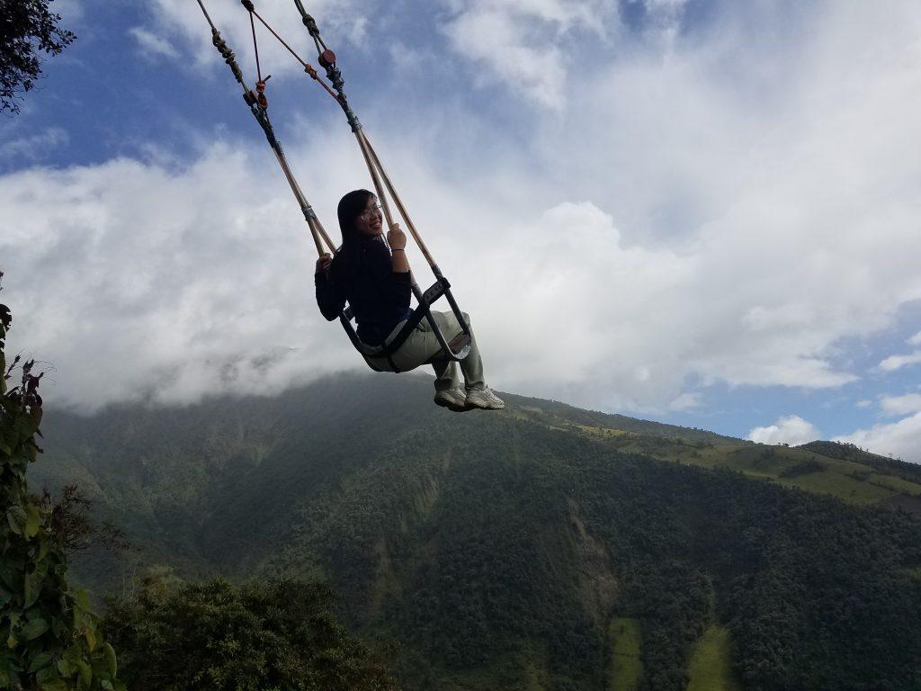 Swinging at Casa Del Arbol