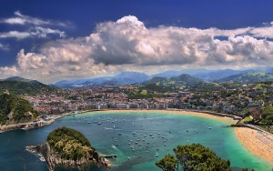 La Concha in San Sebastian, Spain.
