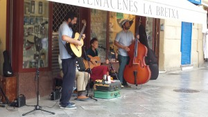 Spanish Buskers