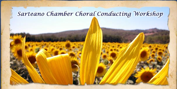 Sarteano Chamber Choral Conducting Workshop in Tuscany, Italy with UMass Lowell 2014